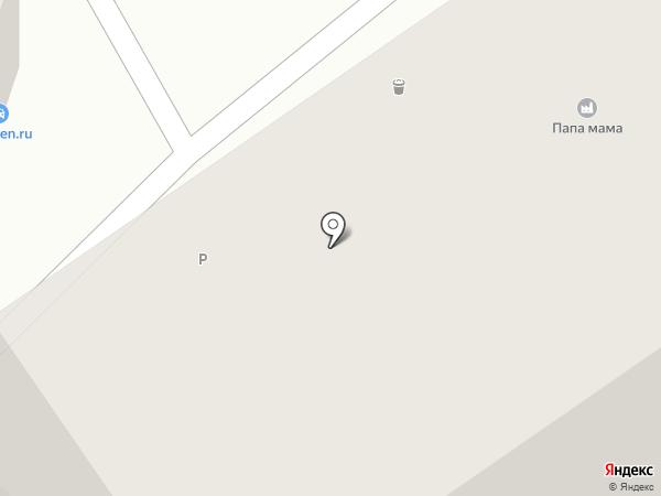 Интерлок на карте Барнаула