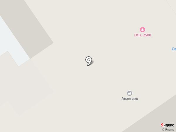Сауны на Бис на карте Барнаула