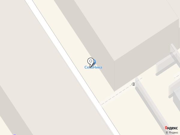 Магазин одежды и нижнего белья на карте Барнаула