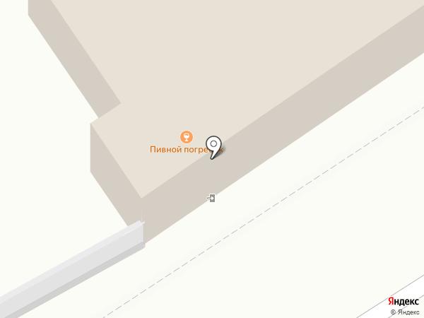 Випс на карте Барнаула