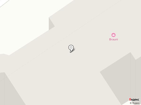 BRAUNI на карте Барнаула