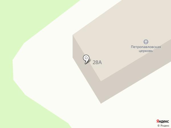 Русская православная церковь на карте Бобровки