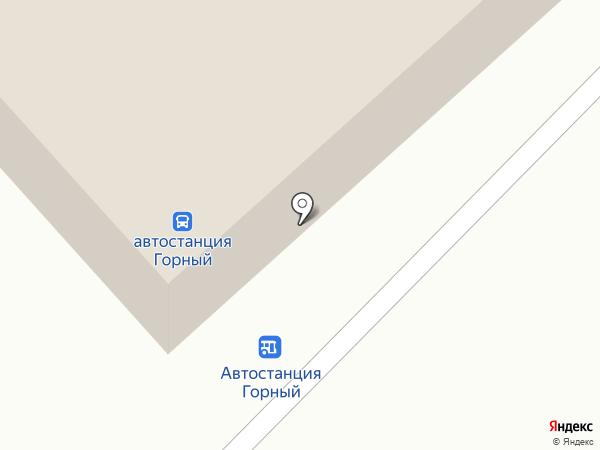 Буфет на карте Горного