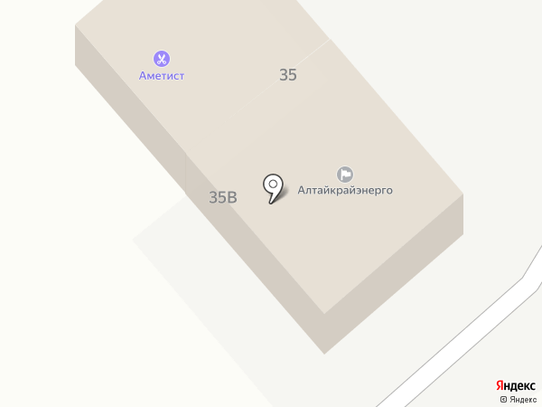 Новоалтайские межрайонные электрические сети на карте Бобровки