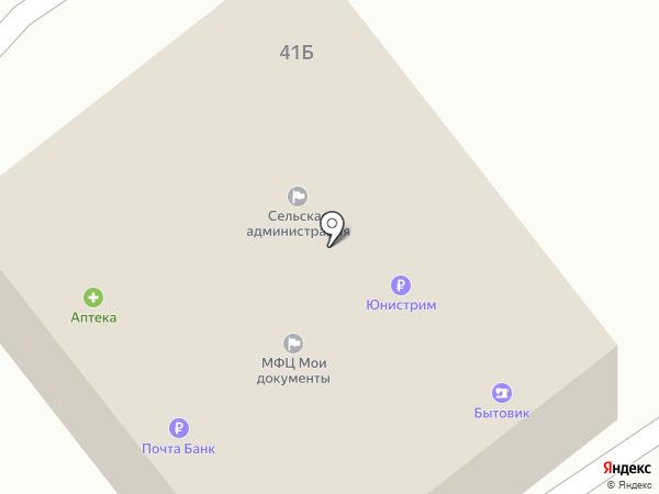 Участковый пункт полиции с. Бобровка на карте Бобровки