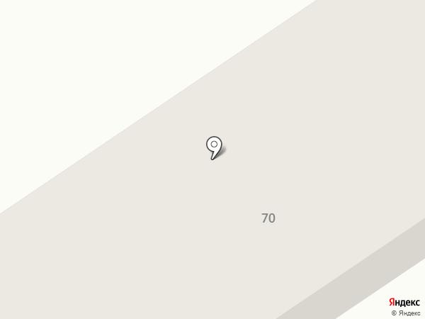 Сеть продуктовых магазинов на карте Новоалтайска