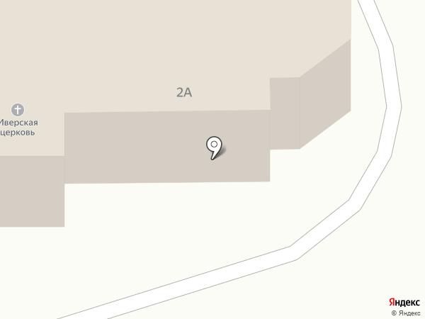 Храм в честь Иверской иконы Божьей Матери с нижним пределом в честь святых апостолов Петра и Павла на карте Новоалтайска