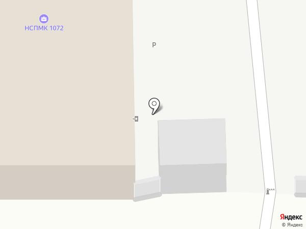 Новоалтайское СПМК-1072 на карте Новоалтайска
