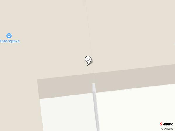 Ремонтная мастерская на карте Новоалтайска
