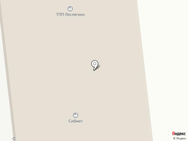 Торговая компания на карте Новоалтайска