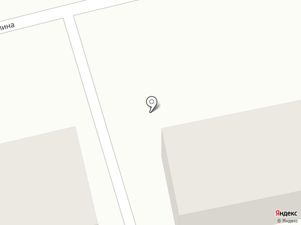 Лечебное исправительное учреждение №8 на карте Новоалтайска