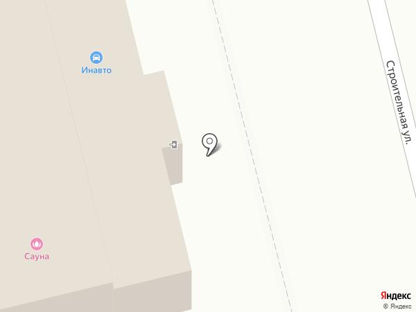 Магазин автотоваров на карте Новоалтайска