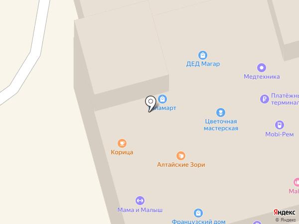Соната на карте Новоалтайска