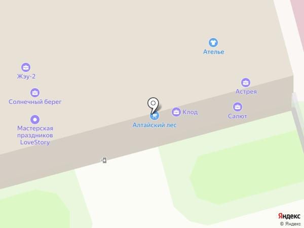 ФРЕНЧ на карте Новоалтайска