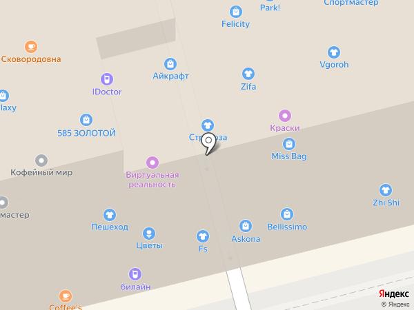 Аттракцион виртуальной реальности на карте Новоалтайска