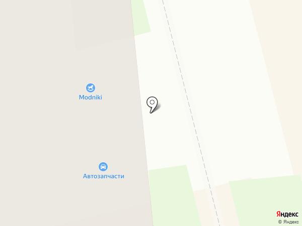 Modniki на карте Новоалтайска