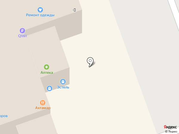 Магазин штор и постельных принадлежностей на карте Новоалтайска
