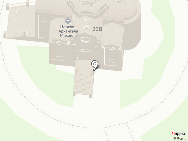 Храм Святого Архистратига Михаила на карте Новоалтайска