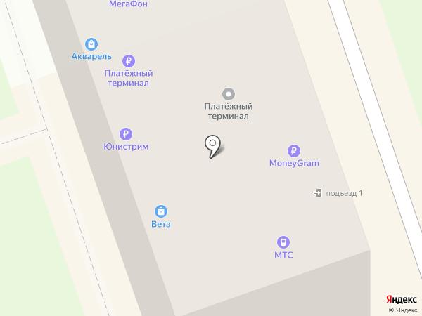 Связной на карте Новоалтайска