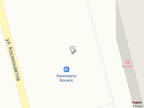 Киоск по продаже хлебобулочных изделий на карте Новоалтайска