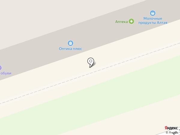 Карамель на карте Новоалтайска