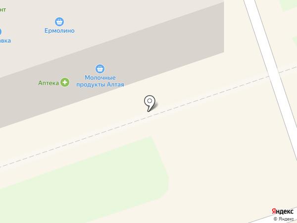 Сырный Дворик на карте Новоалтайска