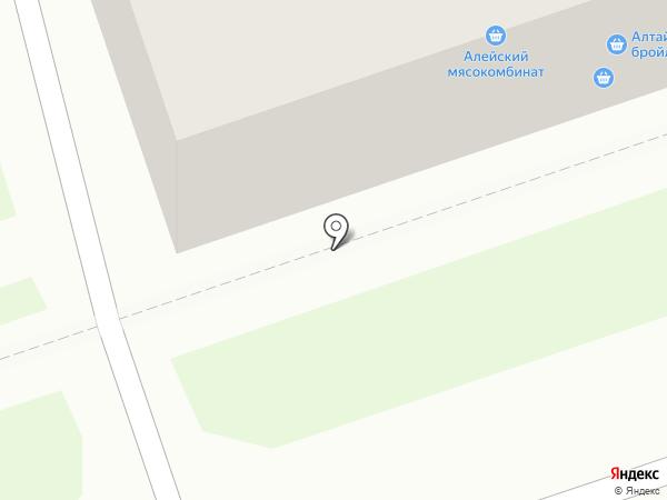 У Леночки на карте Новоалтайска