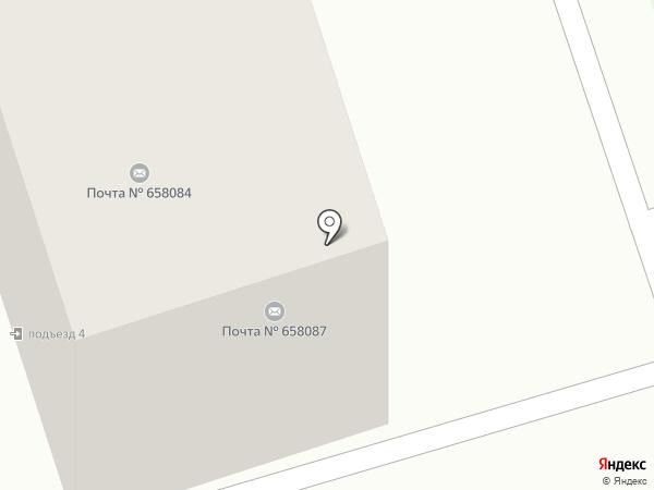 Почтовое отделение №7 на карте Новоалтайска