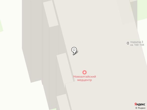 Алтайэнергожилстрой на карте Новоалтайска