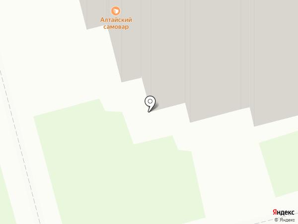 Сытый муж на карте Новоалтайска