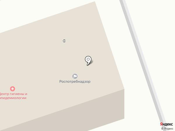 Центр гигиены и эпидемиологии в Алтайском крае, ФБУЗ на карте Новоалтайска