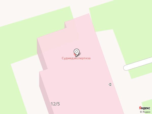 Алтайское краевое бюро судебно-медицинской экспертизы на карте Новоалтайска
