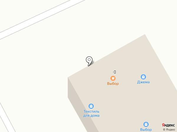 Джема на карте Новоалтайска