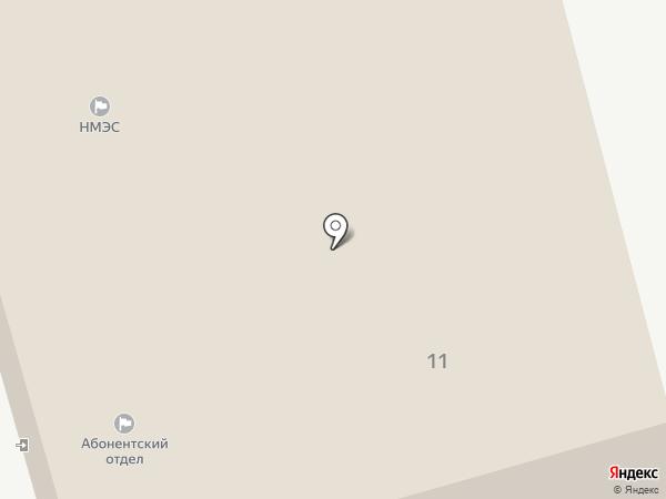 Новоалтайские межрайонные электрические сети на карте Новоалтайска