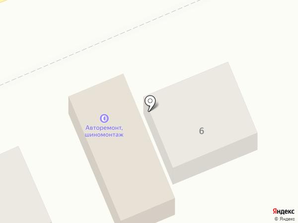 Мастерская по ремонту автомобилей на карте Новоалтайска