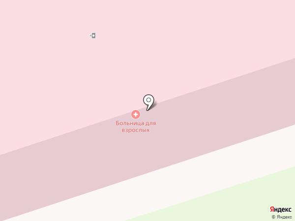 Женская консультация на карте Новоалтайска