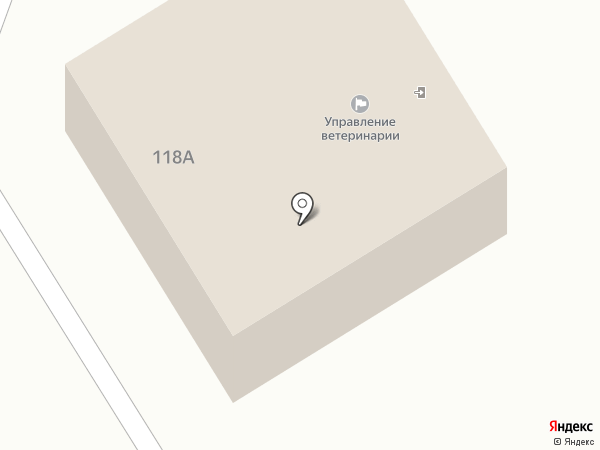 Управление ветеринарии по г. Новоалтайску и Первомайскому району на карте Новоалтайска