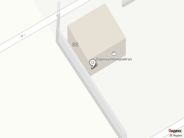 АЗС Газойл на карте Новоалтайска