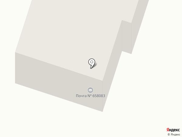 Почтовое отделение №3 на карте Новоалтайска