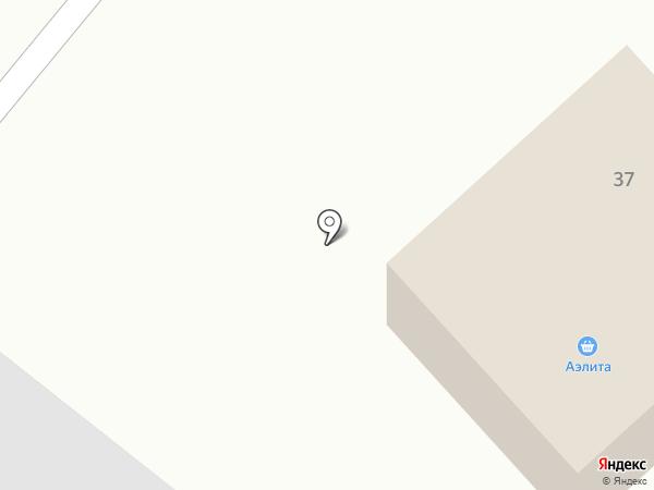 Аэлита на карте Санниково