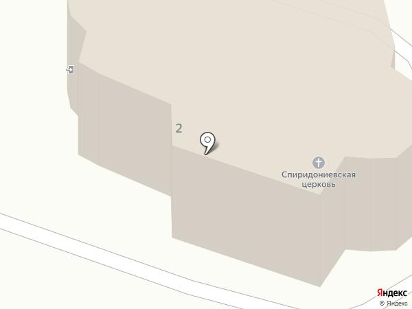 Церковь во имя святителя Спиридона Тримифунтского на карте Санниково
