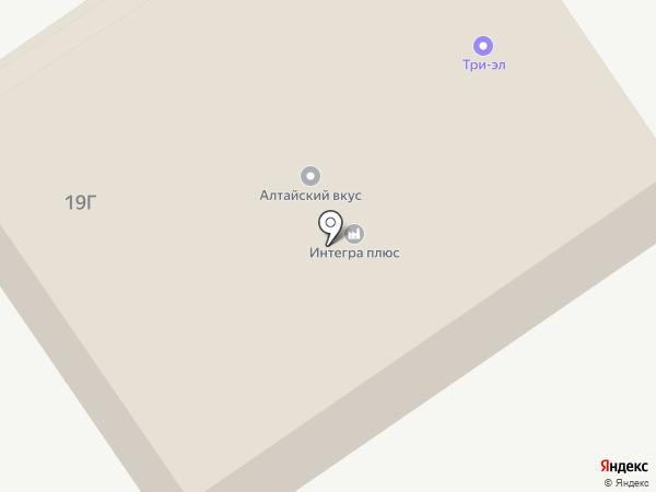 Производственная компания на карте Новоалтайска