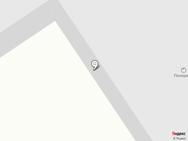 Пилорама на карте Новоалтайска