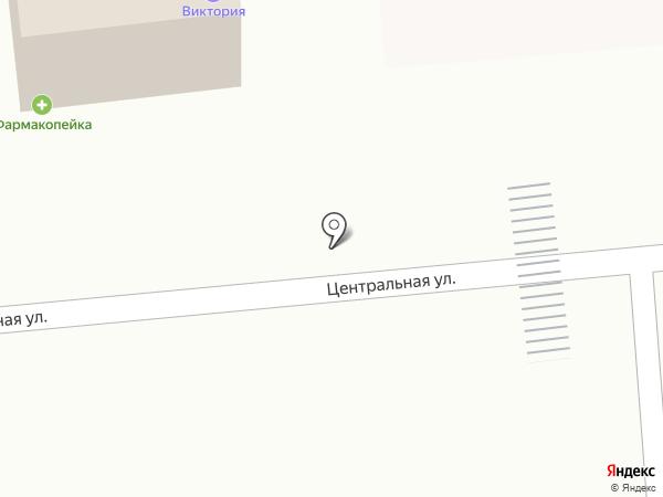 Виктория на карте Березовки