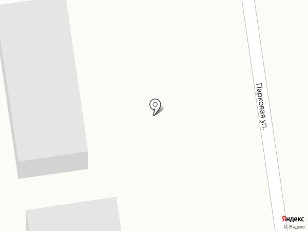 На парковой на карте Березовки