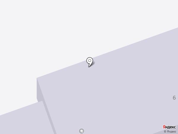 Интернат №18 на карте Новоалтайска