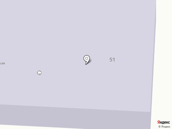 Лебедевская средняя школа на карте Лебедево