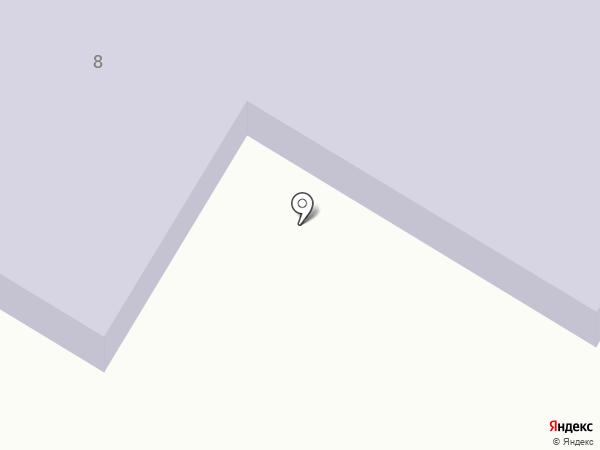 Мирновская основная школа на карте Мирного