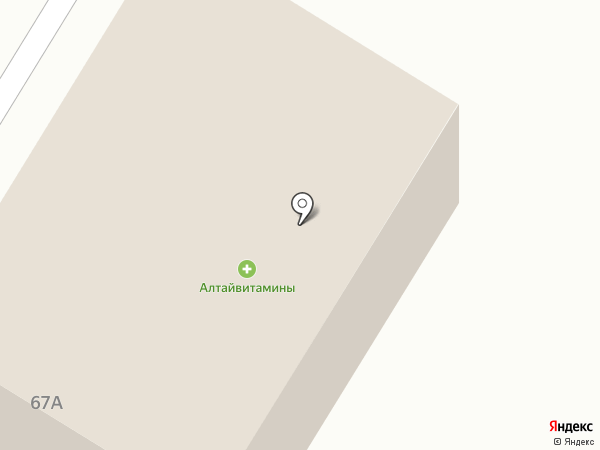 Алтайвитамины на карте Соколово