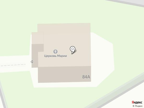 Лютеранская церковь на карте Новотырышкино